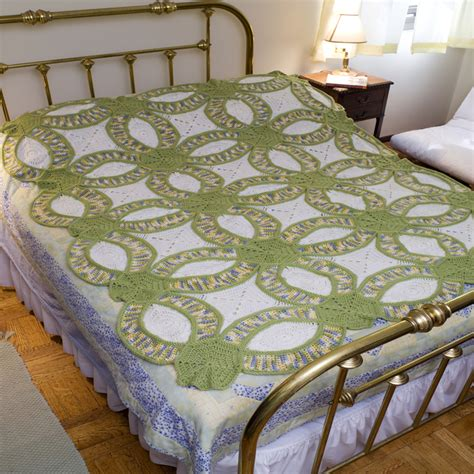Wedding Rings Quilt Pattern Free by Wedding Ring Crochet Quilt Free Pattern Beesdiy