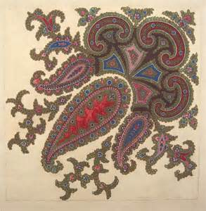 Designs Paisley Shawl Designs Gsa Archives And Collections