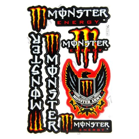 Sticker Kawasaki Rouge by Autocollant Monster Energy Violet Clipart Best
