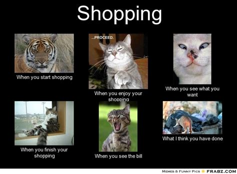 Shopping Meme - shopping meme