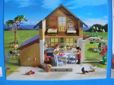 haus playmobil playmobil 174 5120 bauernhaus mit hofladen spielwaren dirk
