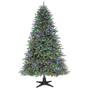 color switch plus 7 5 ft prelit spruce christmas tree sears