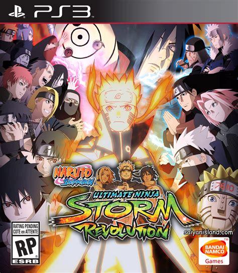 ps3 themes naruto revolution naruto shippuden ultimate ninja storm revolution md