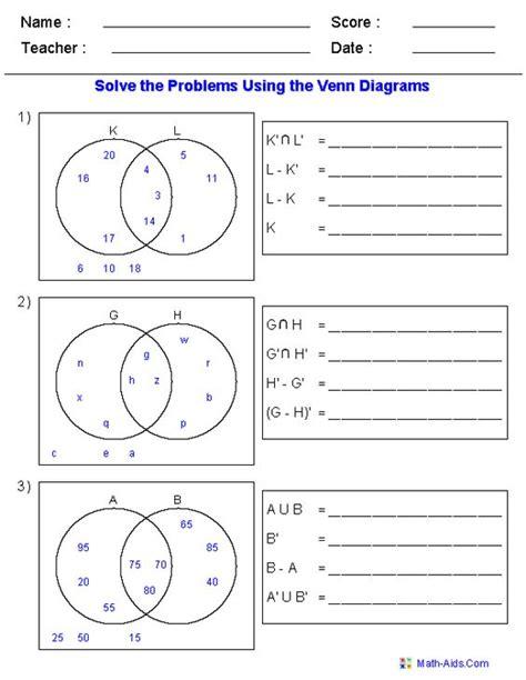 multiples venn diagram worksheet multiples venn diagram worksheet carroll diagrams worksheets by cathyve teaching resources