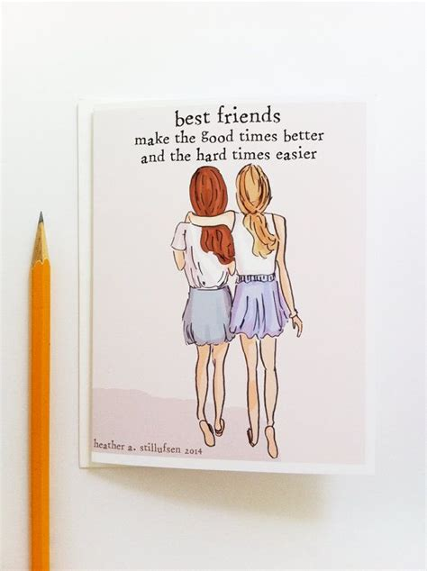 how to make cards for friends the 25 best best friend cards ideas on