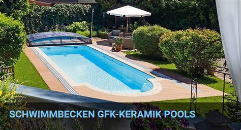 garten pool gfk schwimmbecken gfk optirelax