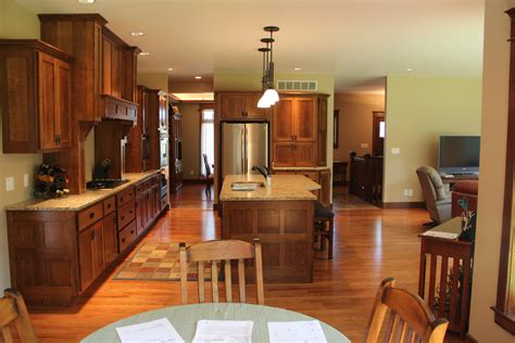 craftsman style home interiors craftsman style kitchen home decor