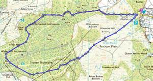 new forest car parks map ordnance survey walk of the week fritham loop