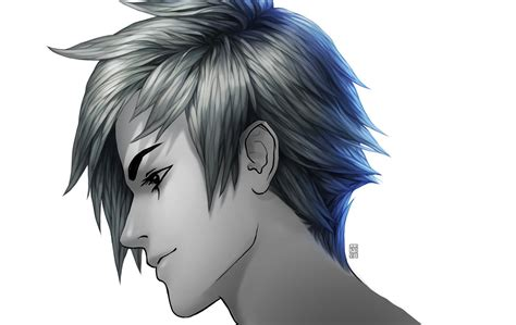 anime hairstyles side view painting anime hair image by tincek marincek on deviantart