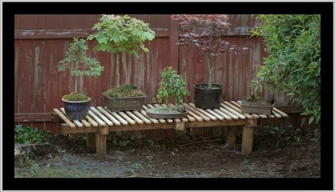 bonsai display bench 1000 images about bonsai display outdoors on pinterest