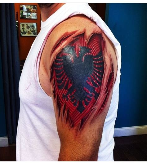 albanian eagle tattoo designs 17 best images about tattoos on sleeve tattoos