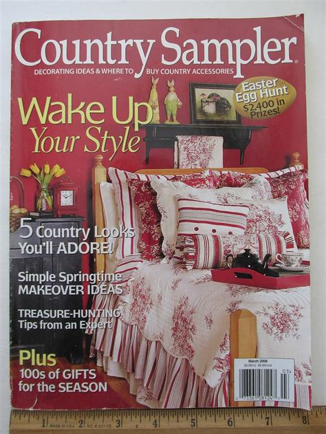 ideas mag country sler decorating ideas magazine march 2008