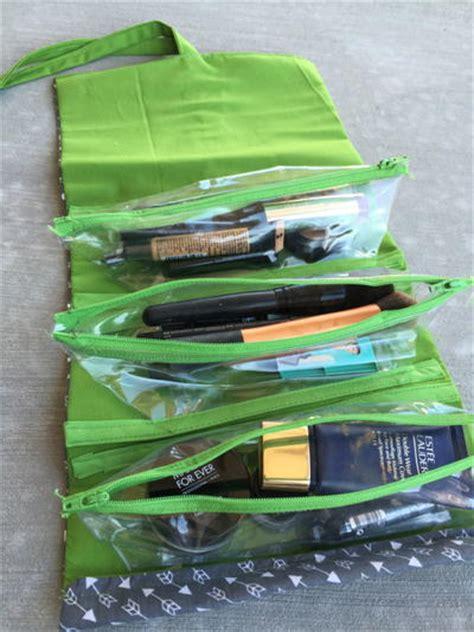 Valet Make Up Roll Up Valet Diy Makeup Bag Allfreesewing