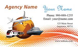 travel agency business cards ship airplane travel agency business card design