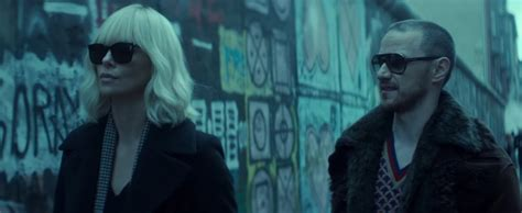 james mcavoy vine trailer for atomic blonde starring charlize theron