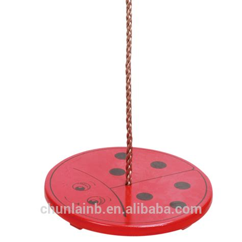 circular swing seat wooden round swing disc swing buy outdoor round swing