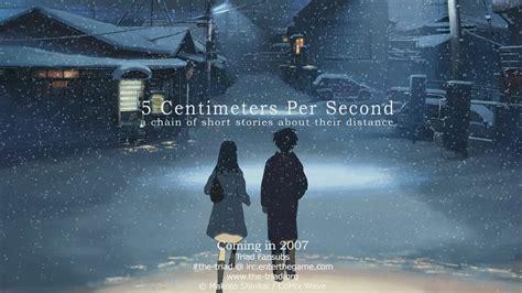 film anime karya makoto shinkai download anime 5 centimeters per second hd mkv sub indo
