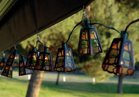 String Of Patio Lights Variations In Outdoor Patio Lighting Yard Surfer
