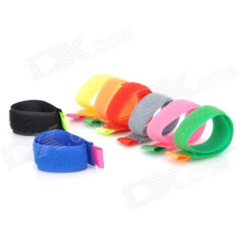 Stylish Cable Ties 8 Pack stylish practical cable ties multicolor 8 pack