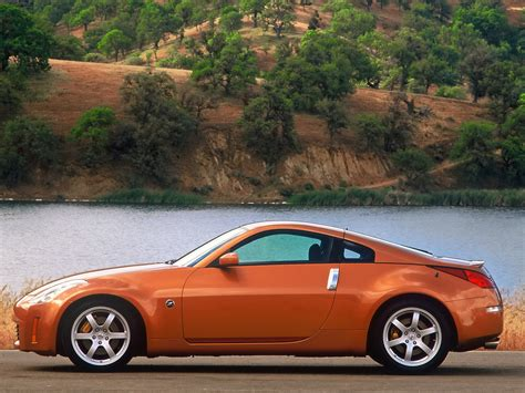 Image Gallery Orange Nissan 350z