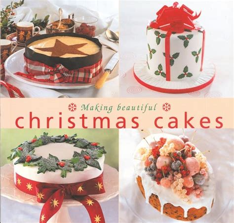 christmas ideas christmas cake decorating ideas