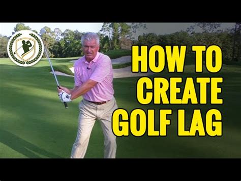 how to make a good golf swing golf lag drills how to create lag in the golf swing david edwards golf