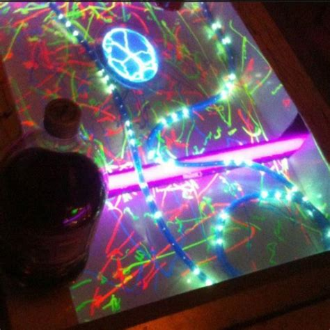 Blacklight Pong Table by 20 Best Images About Wants To Build A Pong