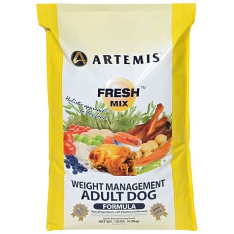 weight management food for dogs artemis weight management food 1800petmeds
