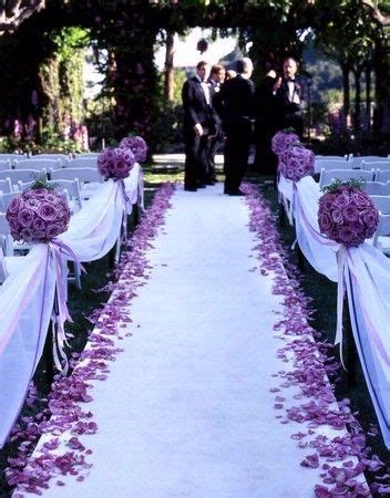Wedding Aisle Flowers Pictures by Best 25 Tulle Wedding Decorations Ideas On