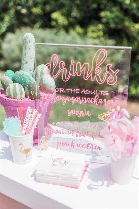 summer themes for adults kara s ideas cactus flamingo themed summer kara s ideas