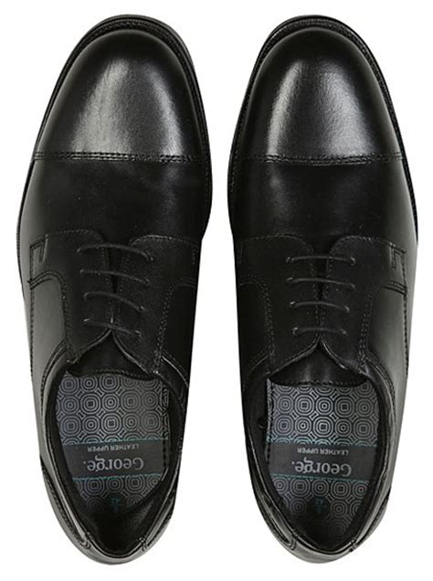 asda shoes leather formal shoes george at asda