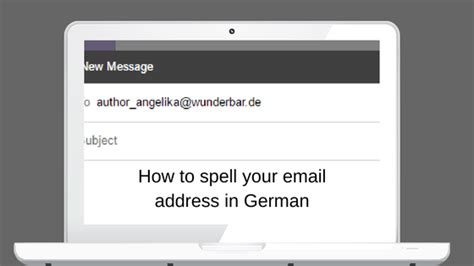 how to your in german how to spell your email address in german angelika s german tuition translation