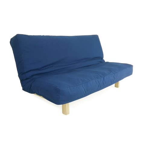 used futon prices 66 off deep blue futon couch sofas