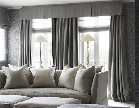 Grey Curtains For Living Room by Gray Drapes Traditional Living Room Marco Meneguzzi