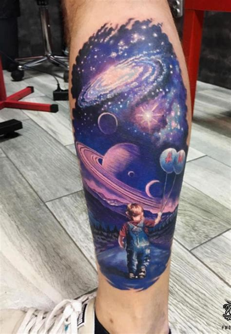 universe tattoos best 25 planet tattoos ideas on