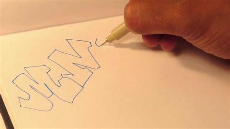 throw  graffiti alphabet