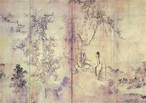 painting images detail hasegawa tohaku