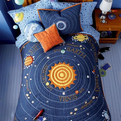 solar system bedroom all solar systems go bedding
