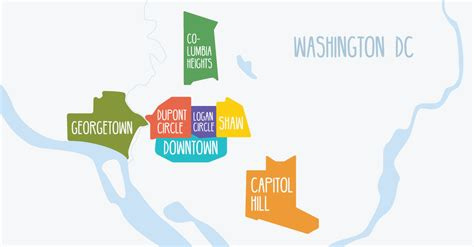 washington dc nightlife map the ultimate map of washington d c s best bars