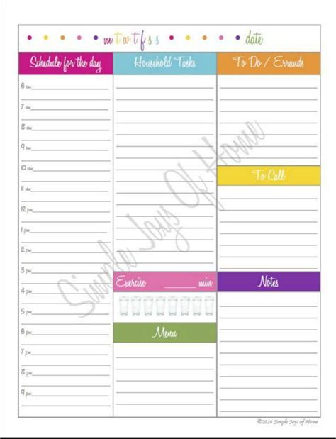 daily planner pdf download daily planner printable pdf daily docket mom planner