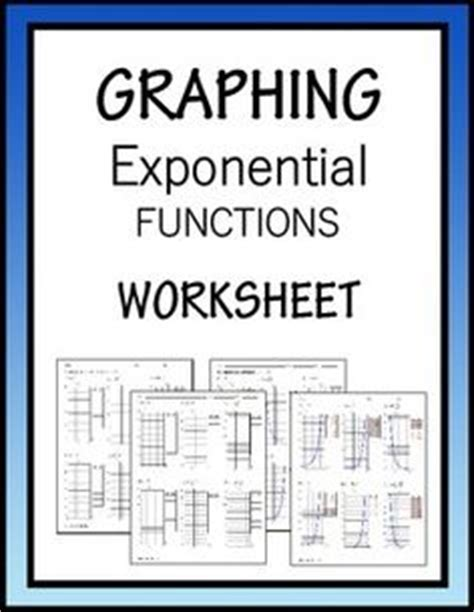Graphing Exponential Functions Worksheet Algebra 1 by Algebra I Eoc Study Guide From S