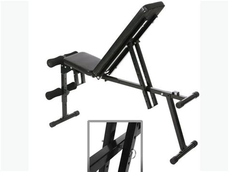 used adjustable weight bench physionics 174 hntlb07 foldable weight bench with 9 level