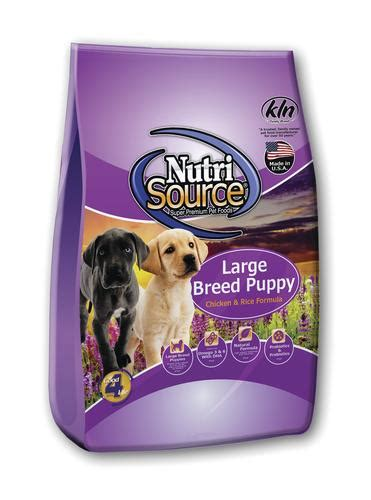 Nutri Source Rice 18 Lbs nutrisource chicken rice large breed puppy food 18 lb
