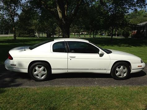 manual cars for sale 1998 chevrolet monte carlo engine control buy used 1998 chevrolet monte carlo ls coupe 2 door 3 1l in plymouth michigan united states