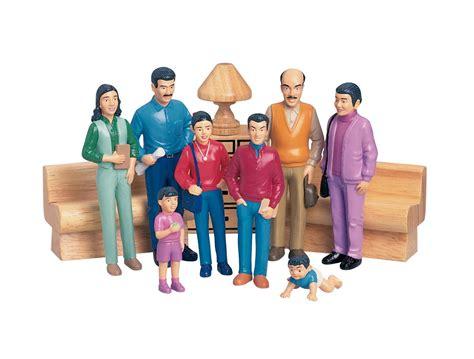 Family Set marvel education hispanic family pretend play figure set set of 8 521457 toys dolls doll