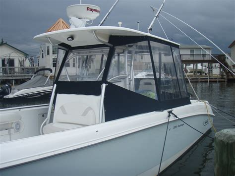 center console bay boat covers center console enclosure picture request the hull truth