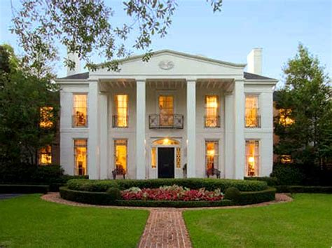 Southern Mansion House Plans by Architecture Colonial Houses In