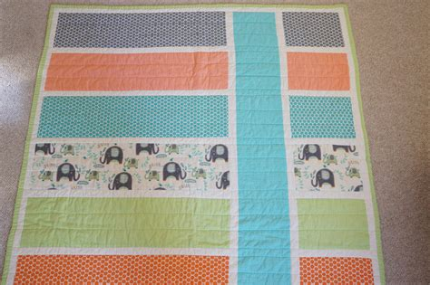 Patchwork Patterns For Baby Quilts - lo me easy baby quilt