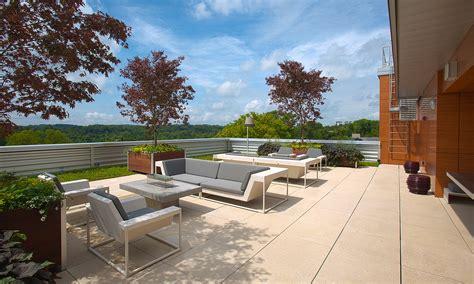 rooftop patio beautiful modern minimalist roof garden design ideas