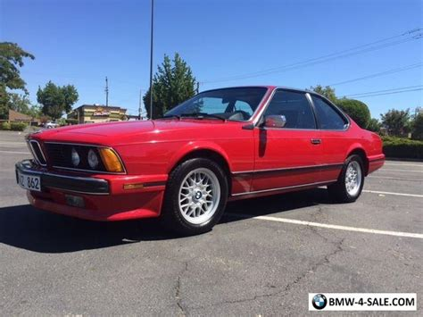 1989 bmw 6 series for sale in united states